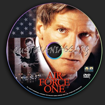 Air Force One dvd label