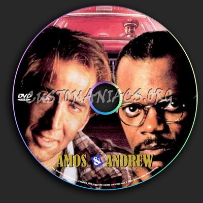 Amos &  Andrew dvd label