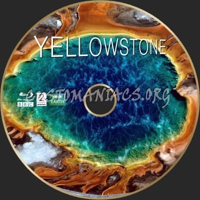 Yellowstone BBC 2009 blu-ray label
