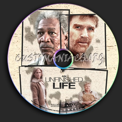 An Unfinished Life dvd label