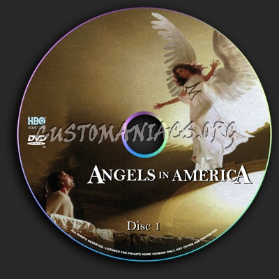Angels in America dvd label