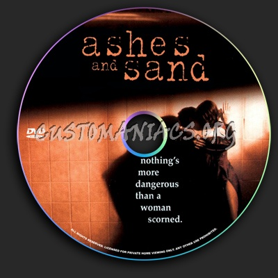Ashes and Sand dvd label