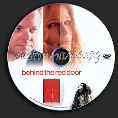 Behind the Red Door dvd label