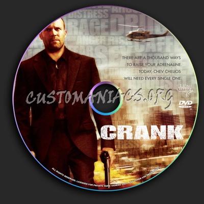 Crank dvd label