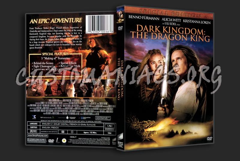 Dark Kingdom: The Dragon King dvd cover