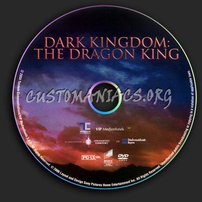 Dark Kingdom - The Dragon King dvd label