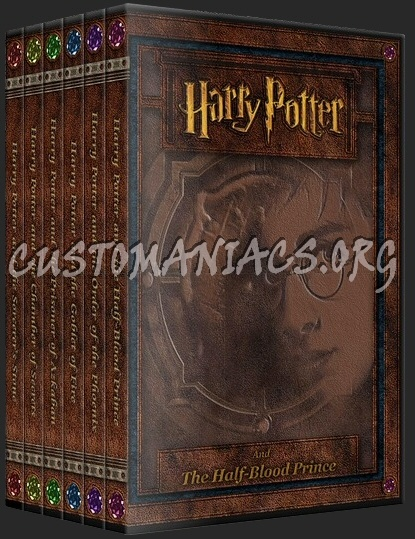 Harry Potter - The Gem Collection dvd cover