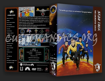 Star Trek: The Animated Series dvd cover