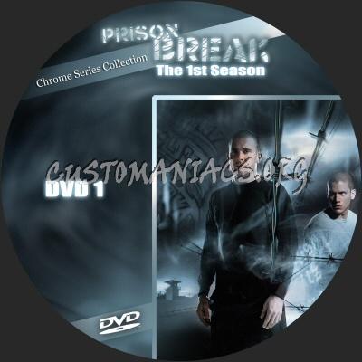 Prison Break season 1 dvd label