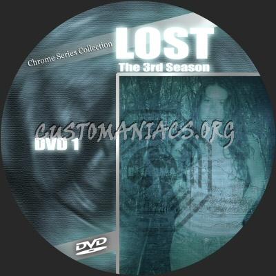 Lost S3 dvd label