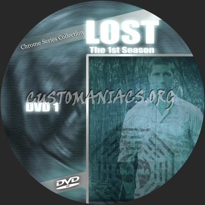Lost S1 dvd label