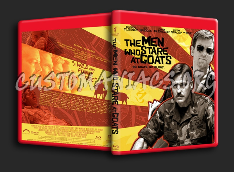 The Men Who Stare At Goats Blu-ray Cover