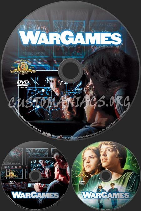 Wargames dvd label