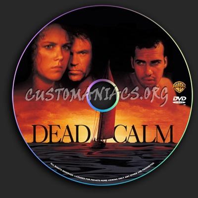 Dead Calm dvd label