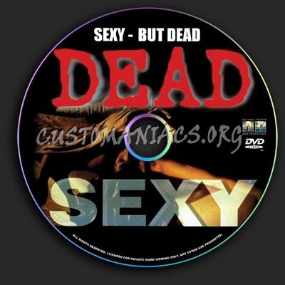 Dead Sexy dvd label