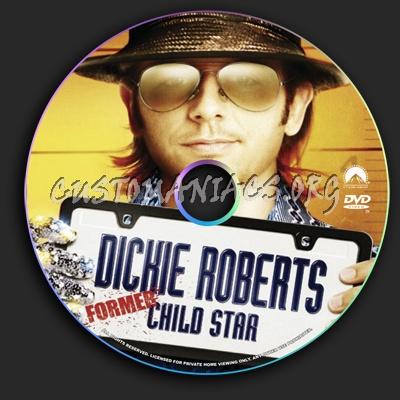 Dicky Roberts Former Child Star dvd label