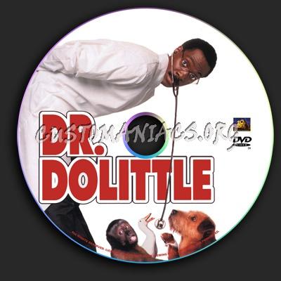 Dr. Dolittle dvd label