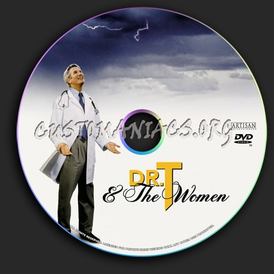 Dr.T and the Women dvd label