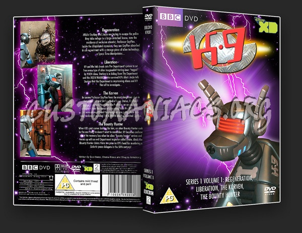K9 : Series 1 Volume 1 dvd cover