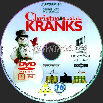 Christmas With The Kranks Dvd.Christmas With The Kranks Dvd Label Dvd Covers Labels By