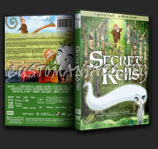The Secret Of Kells dvd cover