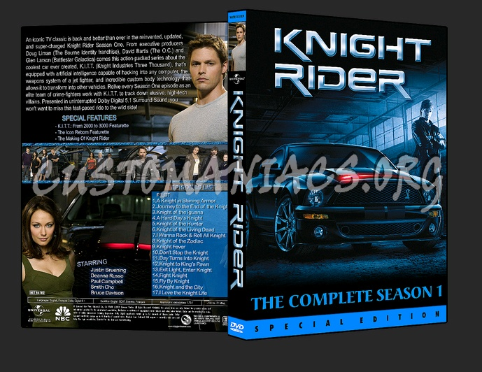 Knight Rider (2008) dvd cover - DVD Covers & Labels by Customaniacs