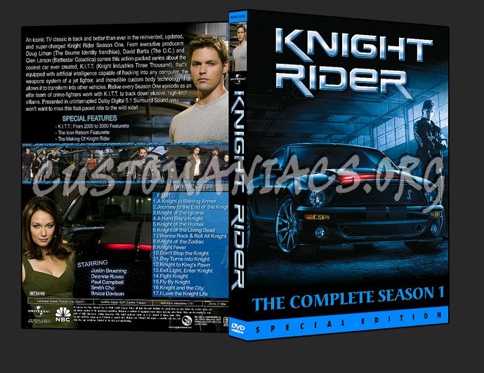 Knight Rider Dvd Cover Knight Rider 2008 Dvd Cover