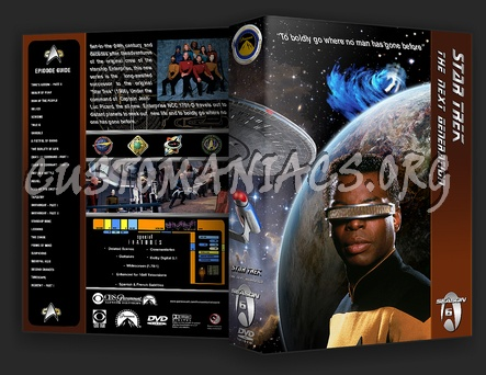 Star Trek The Next Generation dvd cover