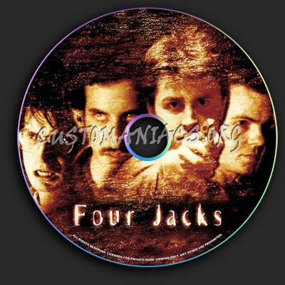 Four Jacks dvd label