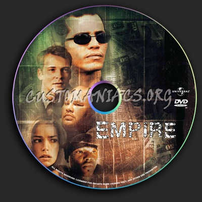 Empire 2 Worlds Collide dvd label