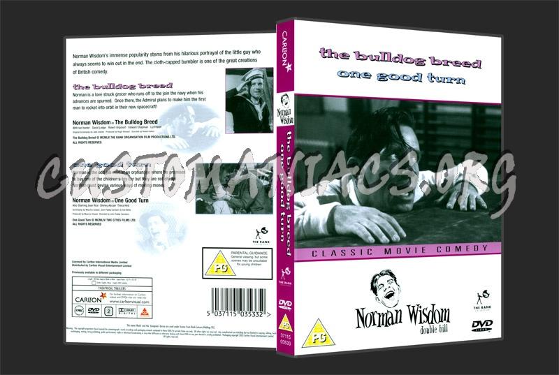 Norman Wisdom - The Bulldog Breed / One Good Turn dvd cover