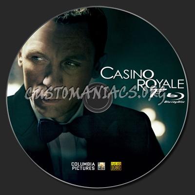 Casino Royale blu-ray label