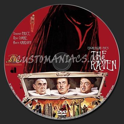 The Raven dvd label