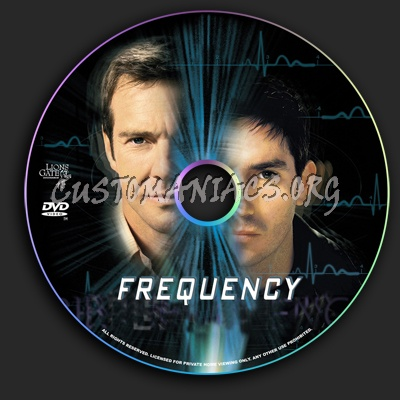Frequency dvd label