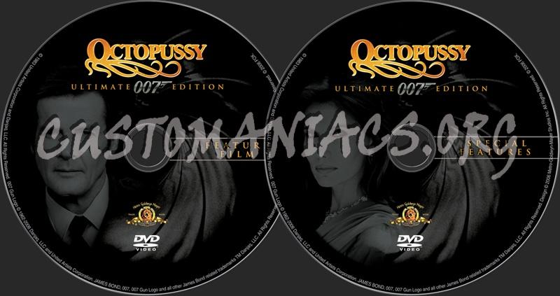 James Bond: Octopussy dvd label