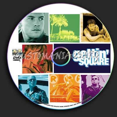 Gettin' Square dvd label