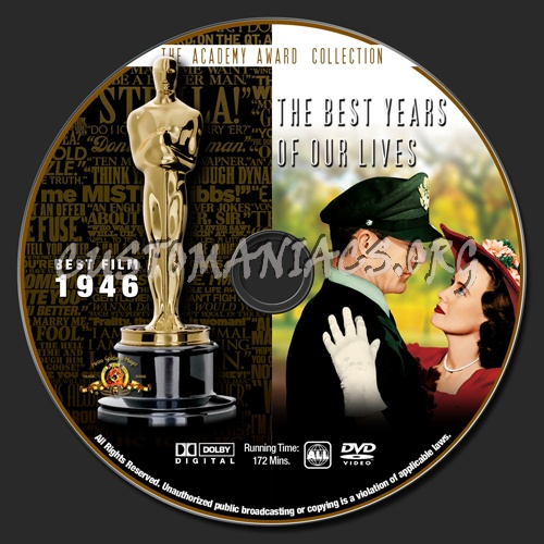 Academy awards collection the best years of our lives dvd label dvd covers labels by for Where the rooms are a collection of our lives