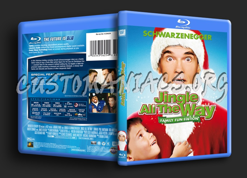 Jingle All the Way blu-ray cover