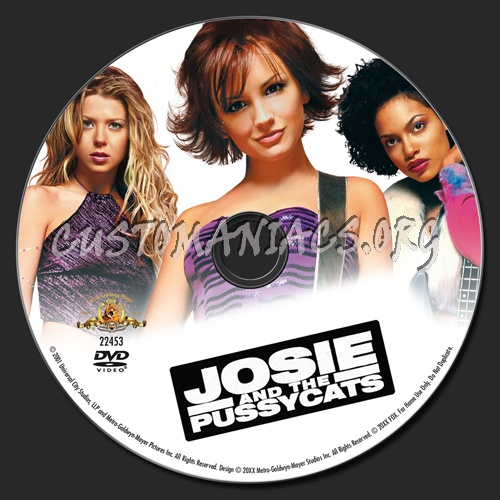Josie and the Pussycats dvd label