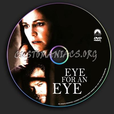 Eye for an Eye dvd label