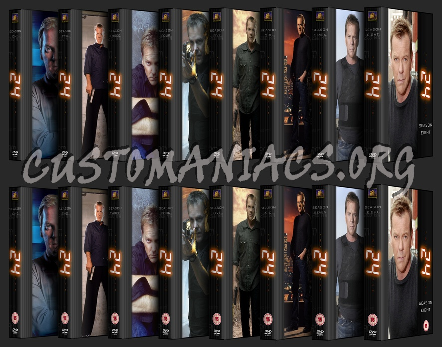 24 (Twenty Four) dvd cover