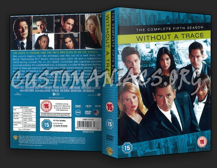 Without a Trace Season 5 dvd cover