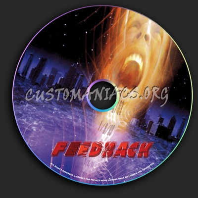 Feedback dvd label