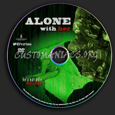 Alone With Her dvd label