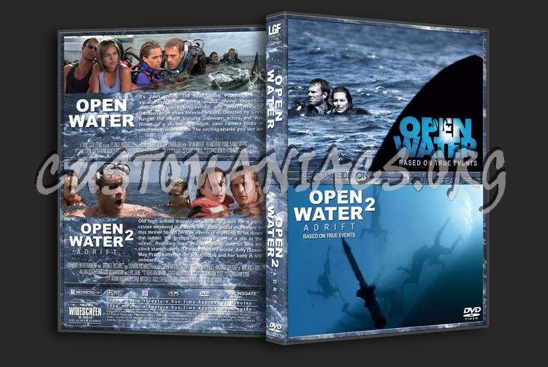 Open Water/Open Water 2: Adrift Double Feature dvd cover