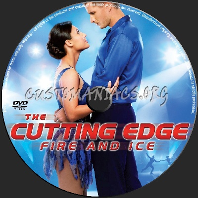 The Cutting Edge Fire and Ice dvd label
