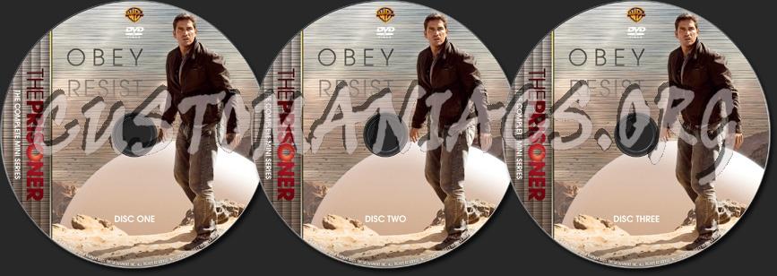 The Prisoner (2009) - TV Collection dvd label