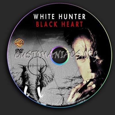 White Hunter Black Heart dvd label