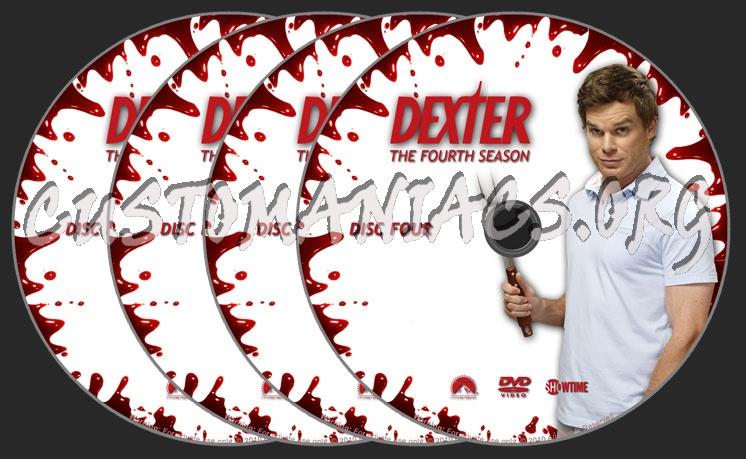 Dexter - Season 4 dvd label