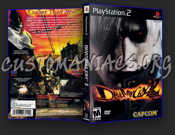 Devil May Cry 2 Dvd Cover Dvd Covers Labels By Customaniacs Id